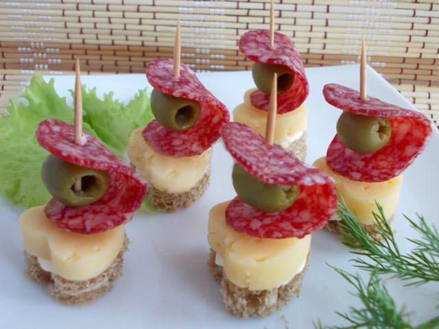 Как сделать канапе из фруктов в домашних условиях пошагово