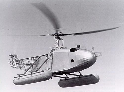 Первый вертолет-амфибия