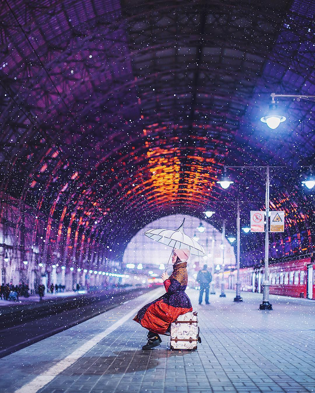 Волшебство на Киевском вокзале