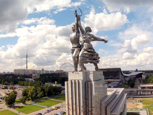 Памятник «Рабочий И Колхозница» (Москва)