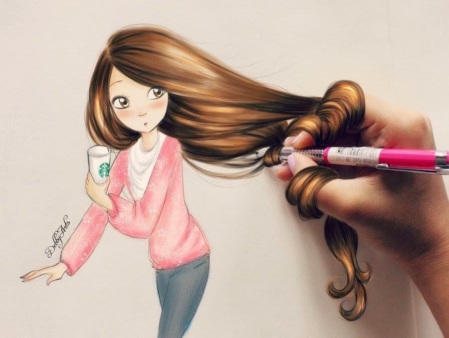 Картинки девочек прикольных нарисованных, майнкрафт